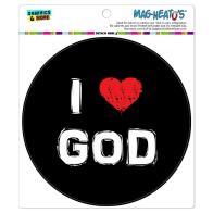 Love God Stylish Circle Mag Neato Car