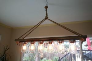 Lovely Diy Aqua Chandelier