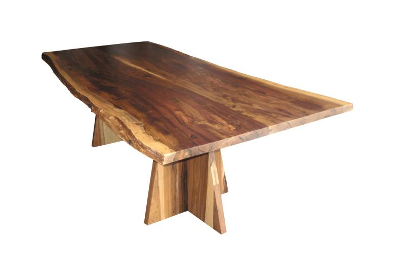 Luca Live Edge Dining Table Dering Hall