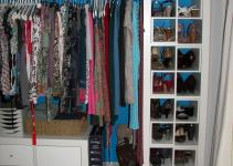 Luxurioys Open Wall Closet Ideas Mirrored Wardrobe