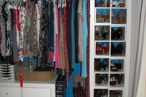 Luxurioys Open Wall Closet Ideas Mirrored Wardrobe