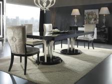 Luxury Modern Contemporary Dining Room Stylish Side