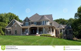 Luxury Multi Level Home Stock