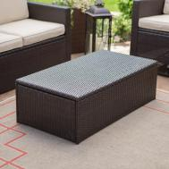 Luxury Outdoor Storage Coffee Table Living Room