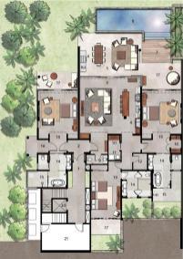 Luxury Villas Floor Plans Modern House