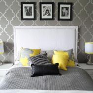 Luxury Yellow Grey Bedroom Furniture Home Design