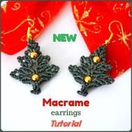 Macrame Earrings Tutorial Diy Jewelry