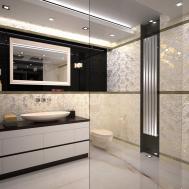 Magnificent Ideas Art Deco Bathroom Floor