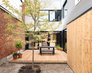 Maison Gasp Shed Architecture
