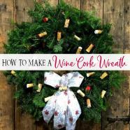 Make Amazing Wine Cork Wreath