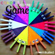 Make Color Matching Game Your Preschooler