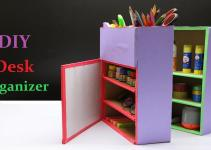 Make Diy Desk Organizer