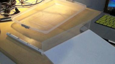 Make Diy Light Tracing Table Drawing