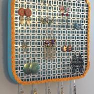 Make Diy Wall Jewelry Organizer Decorating