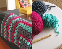 Make Giant Granny Square Rug