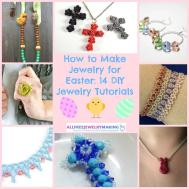 Make Jewelry Easter Diy Tutorials