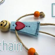 Make Key Chain Ana Diy Crafts