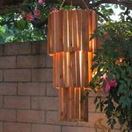 Make Outdoor Rustic Chandelier Easy Diy Spot