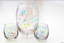 Make Paint Splattered Vase Throwback 80s