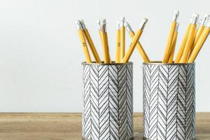 Make Pencil Holder Empty Tin Cans Grillo