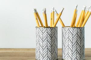 Make Pencil Holder Empty Tin Cans Grillo