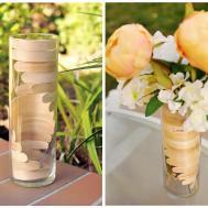 Make Popsicle Stick Helix Vase Dollar Store Crafts