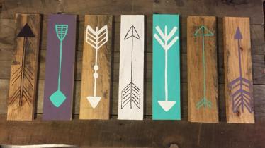 Make Rustic Decorative Arrow Sign Diy Home