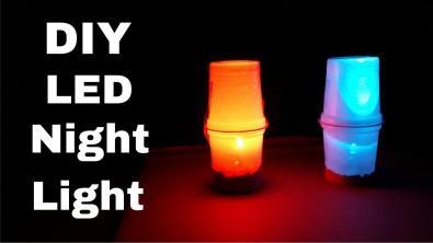 Make Simple Led Table Night Lamp Diy