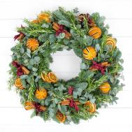 Make Traditional Christmas Wreath