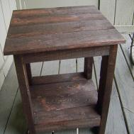 Make Wood Pallet End Tables Discover Woodworking