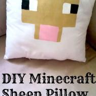 Make Your Own Diy Minecraft Pillows Sew Tutorial