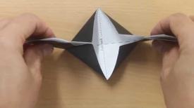 Make Your Own Origami Mortarboard Graduation Cap