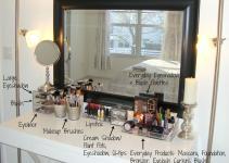 Makeup Storage Desk Vidalondon