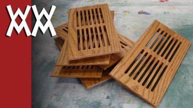 Making Furnace Vent Register Covers