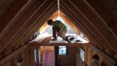 Making Tongue Groove Flooring Tiny House Loft