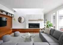 Marble Wood Modernity Refined House Addition Ottawa