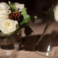 Marvelous Accessories Wedding Table Decoration Using