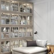 Marvelous Books Lighting Inside Big Book Storage