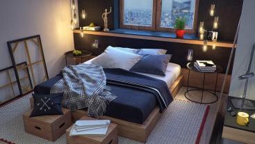 Masculine Bedroom Interior Design Ideas Fnw