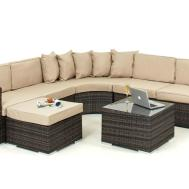 Maze Rattan Furniture Round Sofa Set Home