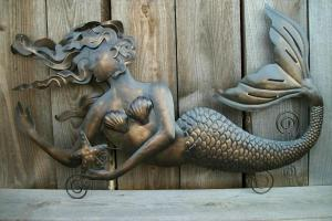 Mermaid Decor Diy Ward Log Homes
