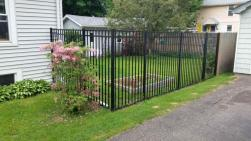 Metal Lattice Fence Home Gardens Geek