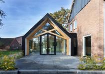 Mid Century Dutch Farmhouse Gets Bold Contemporary