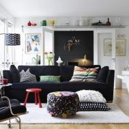 Mieszkanie Stylu Skandynawskim Ciep Dodatki