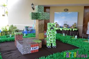 Minecraft Party All Boys