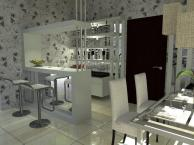 Mini Bar Counter Small House Design Ideas