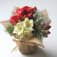 Mini Christmas Flower Arrangement Gift Ainursflorals