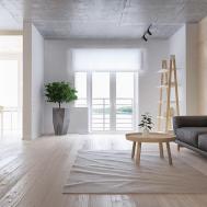 Minimalist Apartment Family Four