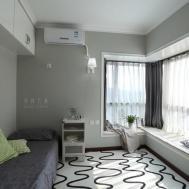 Minimalist Corner Windows Bedroom Planning Home