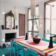 Minimalist Dining Room Design Moroccan Style
